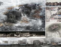 Grand Prize Amphibious Architecture Projective Obsolescence of the Techno-Ruin Wong Yok Fai Arnold Hong Kong
