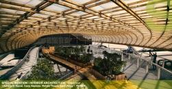 Interior Architecture Branchout Adnane El Younsi, Camy Seymour, Violette Theard, Sarah Fabry (France)