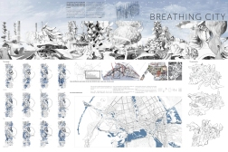 Second Prize Breathing City Anna Andronova (Russia)